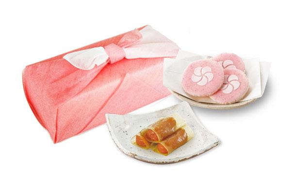 幸せ銘菓セット・福 [福つつみとふのやき菓子の詰め合わせ]