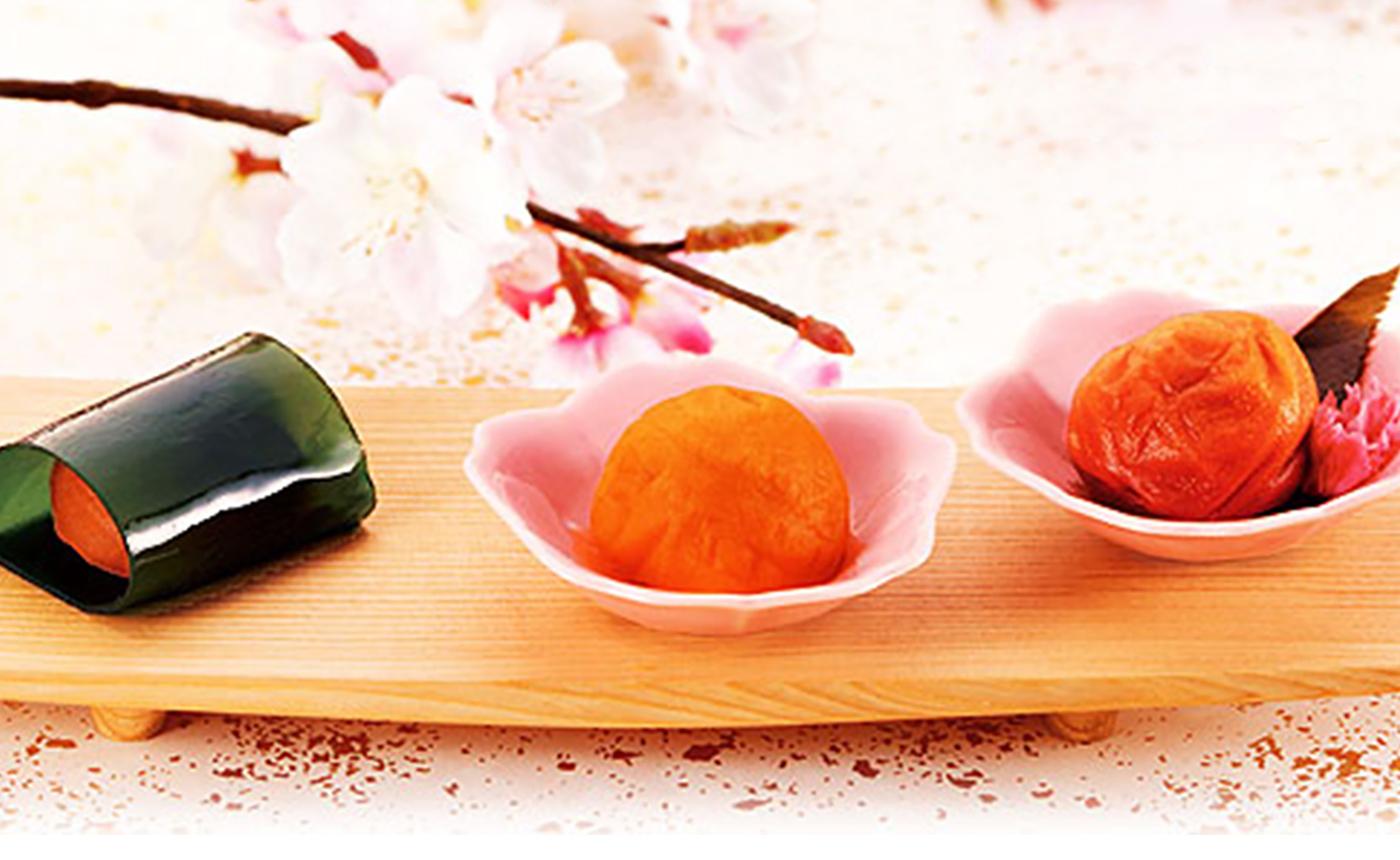 幸つつみと桜梅のセット